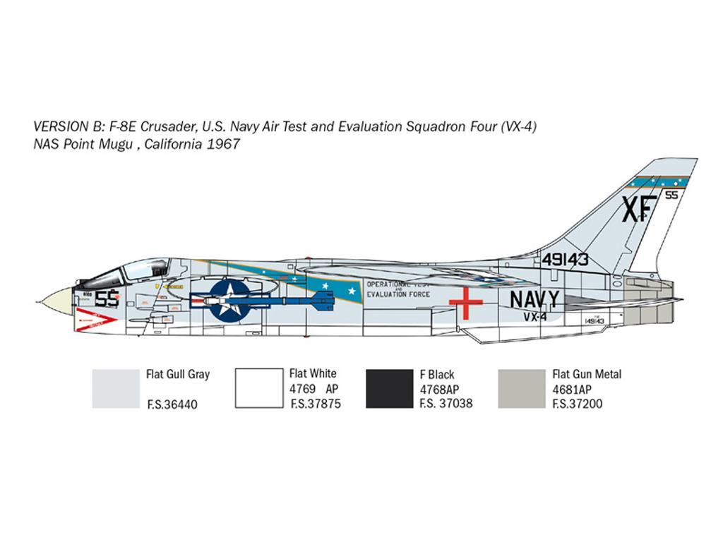 F-8E Crusader (Vista 5)