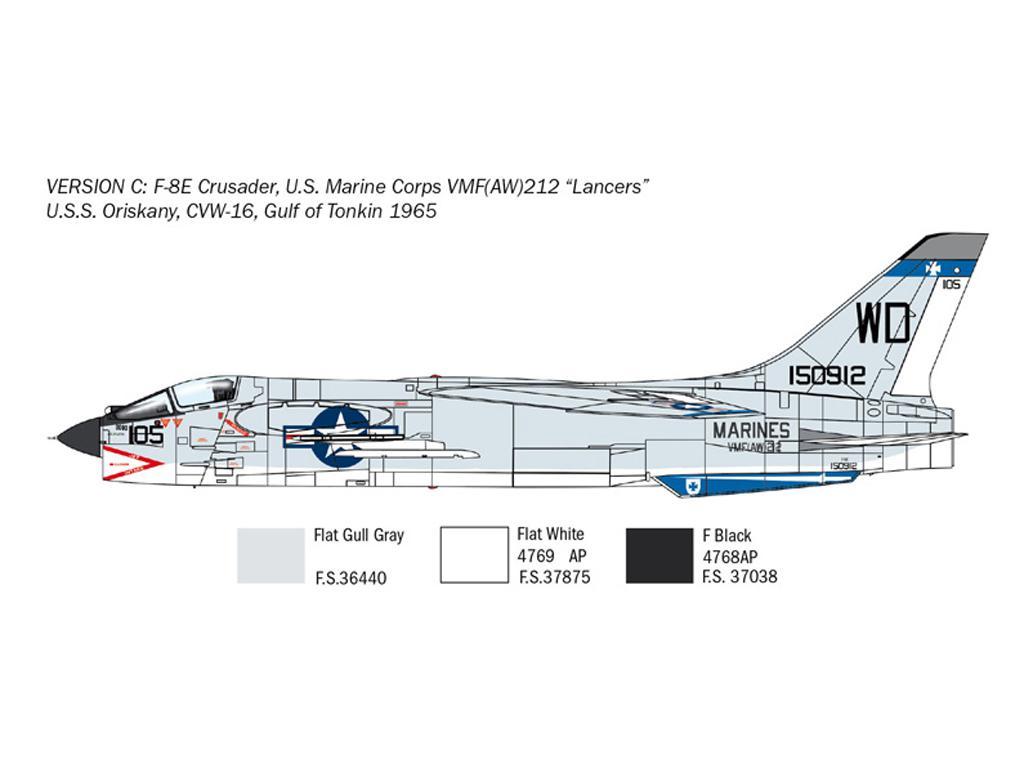 F-8E Crusader (Vista 6)