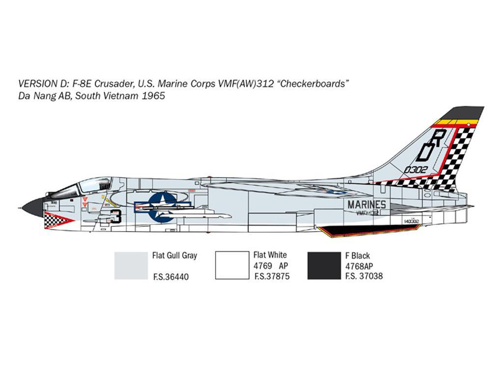 F-8E Crusader (Vista 7)
