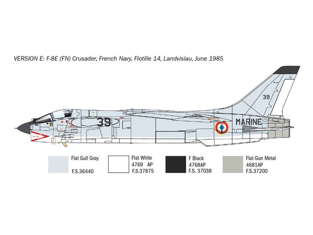 F-8E Crusader (Vista 8)