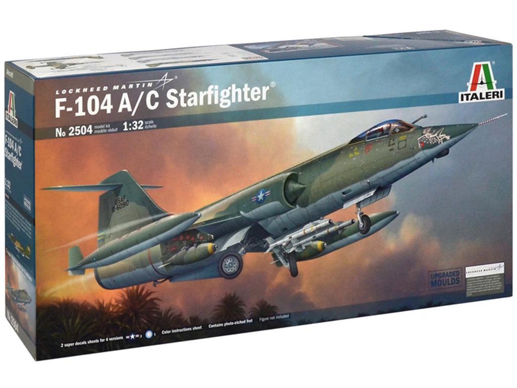 F - 104 A/C Starfighter (Vista 1)