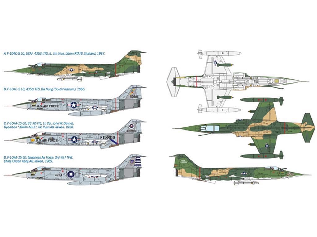 F - 104 A/C Starfighter (Vista 2)
