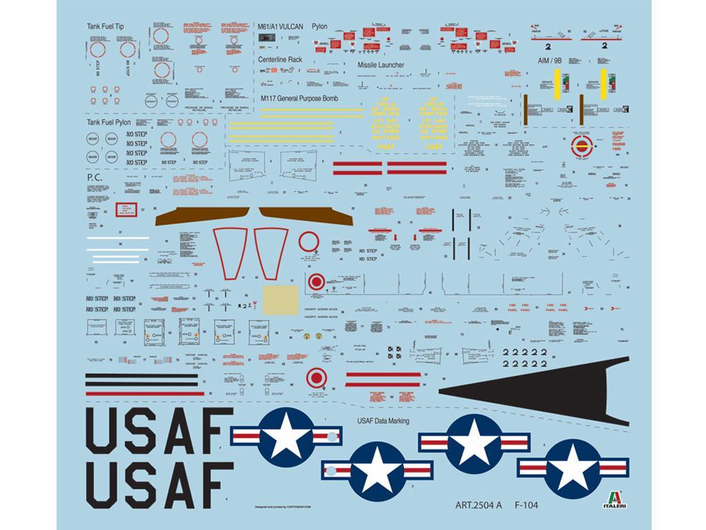 F - 104 A/C Starfighter (Vista 3)