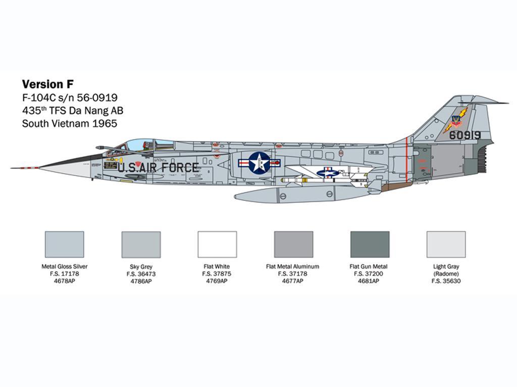 F-104 Starfighter A/C (Vista 2)