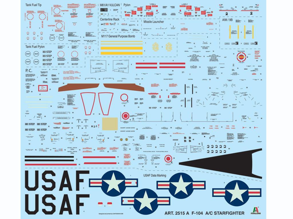 F-104 Starfighter A/C (Vista 3)