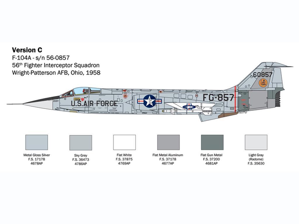 F-104 Starfighter A/C (Vista 7)