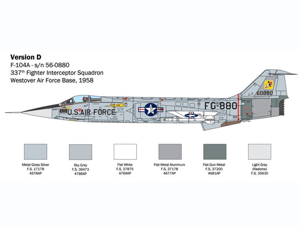F-104 Starfighter A/C (Vista 8)