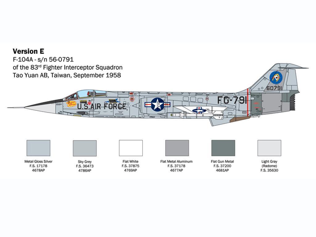 F-104 Starfighter A/C (Vista 9)