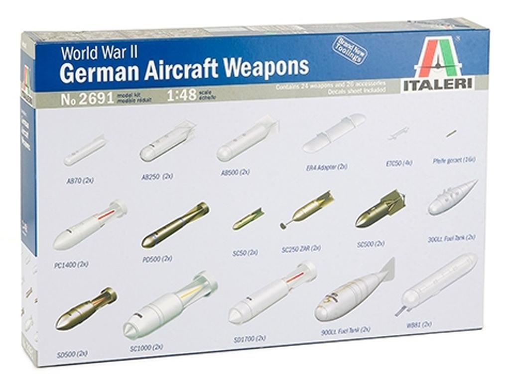 Armamento Aereo Aleman WWII (Vista 1)