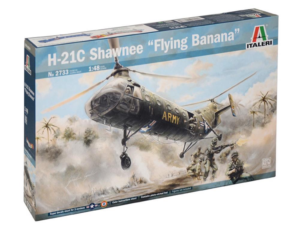 H-21C Shawnee Flying Banana (Vista 1)