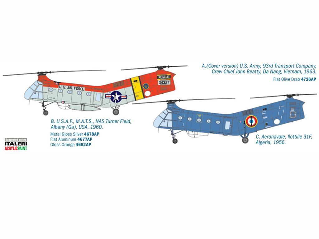 H-21C Shawnee Flying Banana (Vista 2)