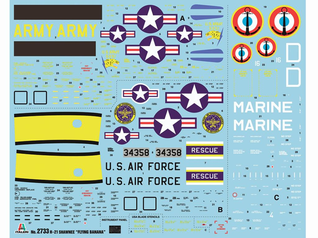 H-21C Shawnee Flying Banana (Vista 3)