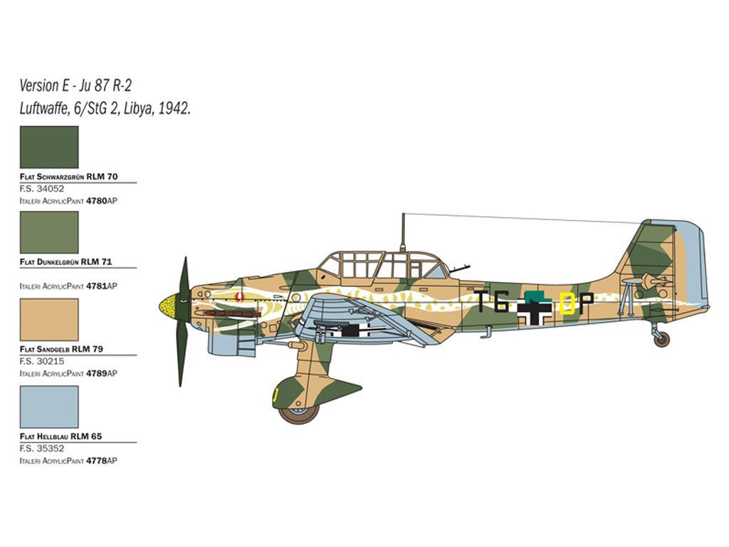 JU 87 B-2/R-2 Picchiatello (Vista 2)