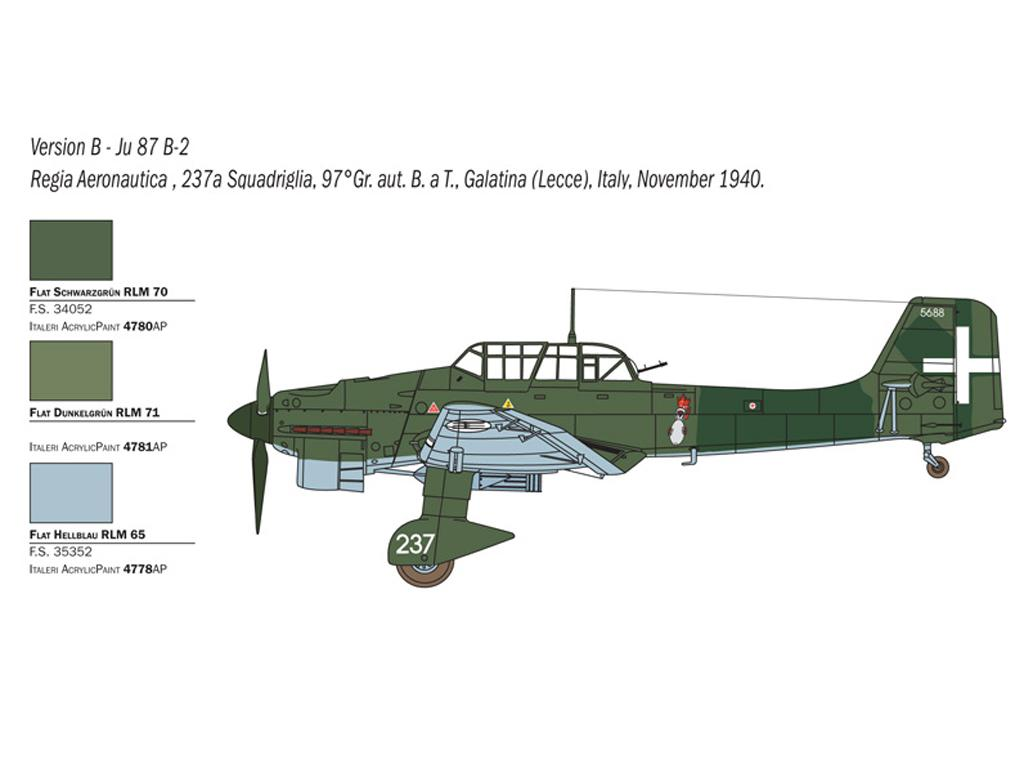 JU 87 B-2/R-2 Picchiatello (Vista 5)