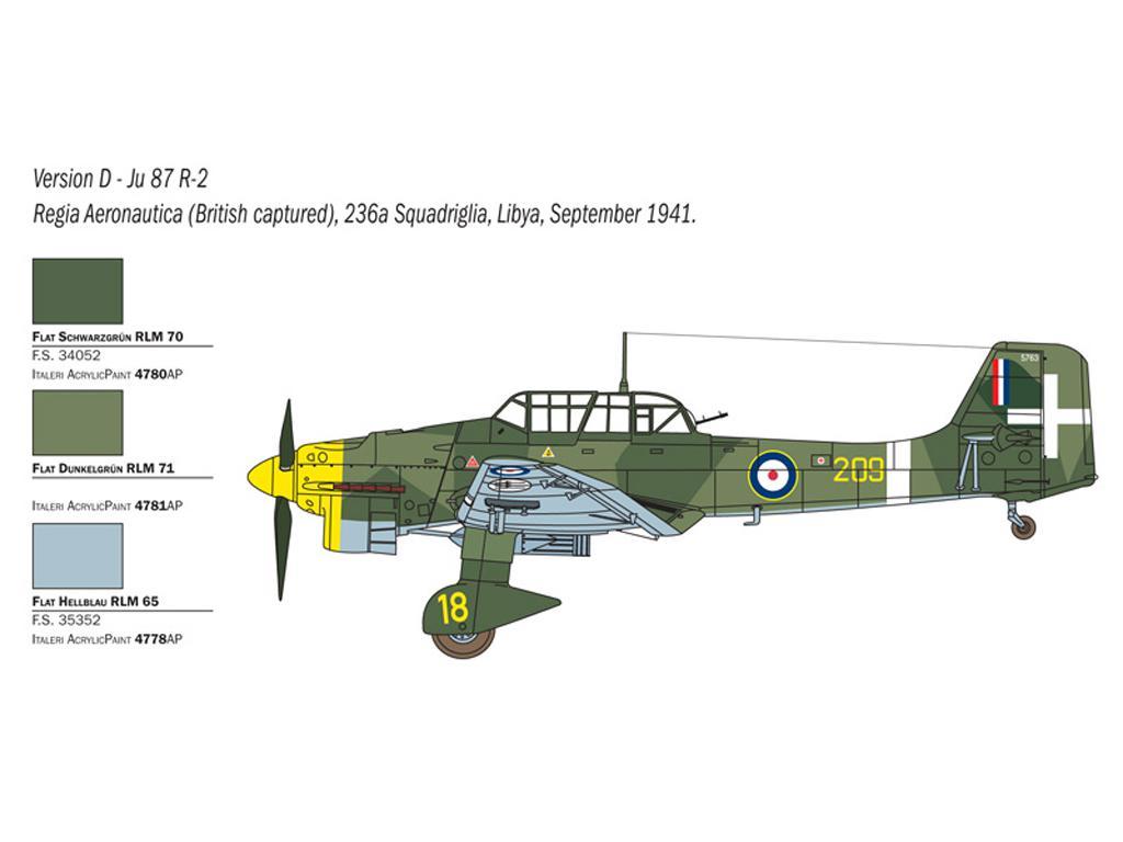 JU 87 B-2/R-2 Picchiatello (Vista 7)