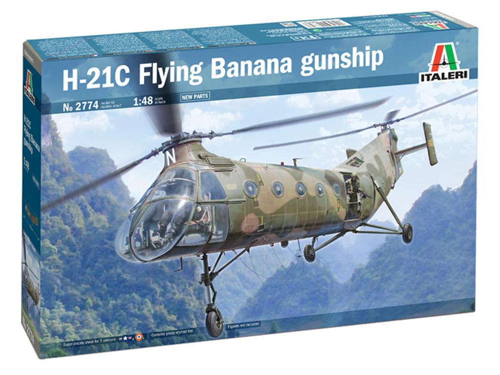 H-21C Flying Banana Gunship (Vista 1)