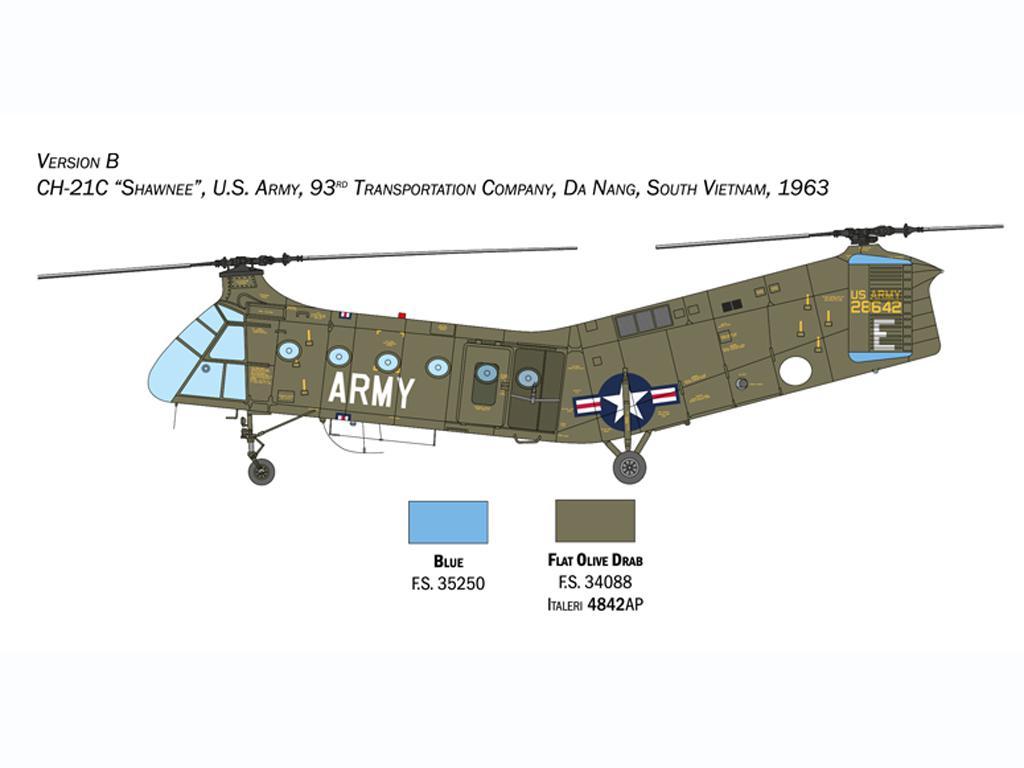 H-21C Flying Banana Gunship (Vista 4)