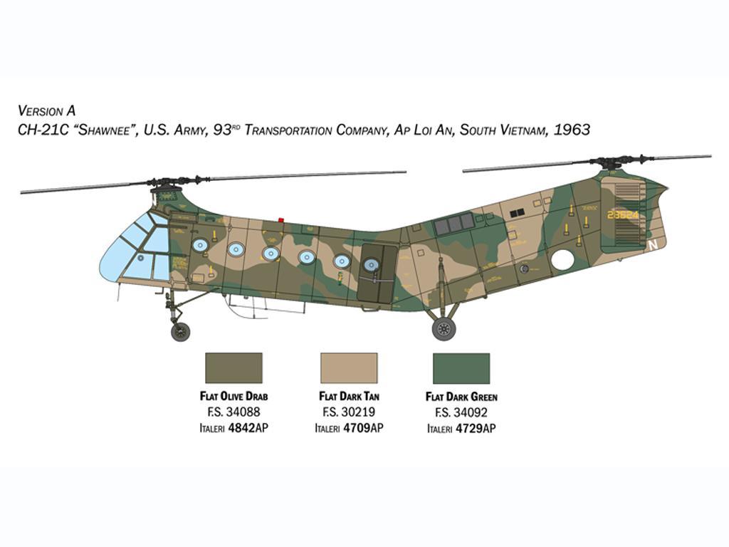 H-21C Flying Banana Gunship (Vista 6)