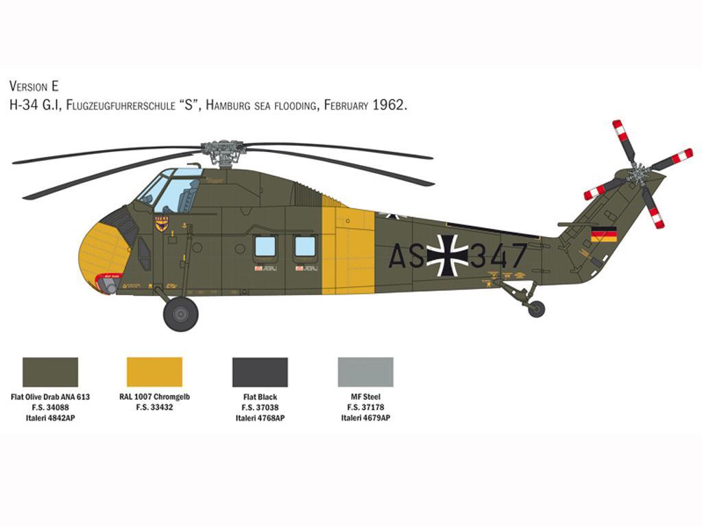 H-34A Pirate / UH-34D U.S. Marines (Vista 2)