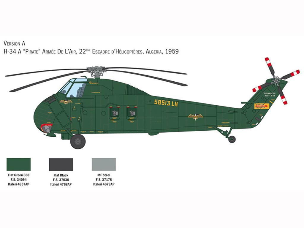 H-34A Pirate / UH-34D U.S. Marines (Vista 4)