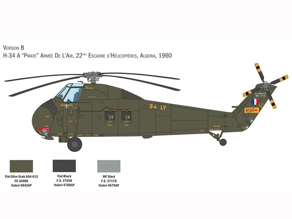 H-34A Pirate / UH-34D U.S. Marines (Vista 5)