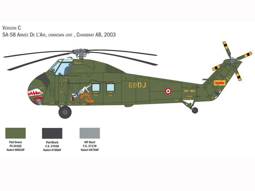 H-34A Pirate / UH-34D U.S. Marines (Vista 6)