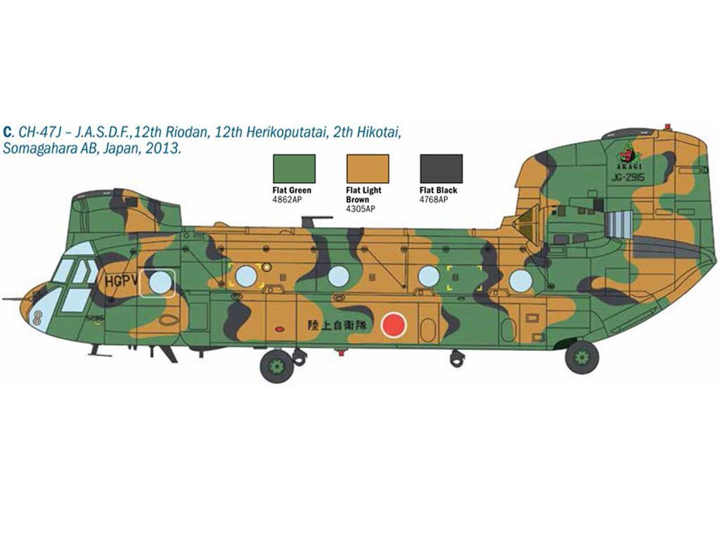 Chinook HC.2 CH-47F (Vista 2)