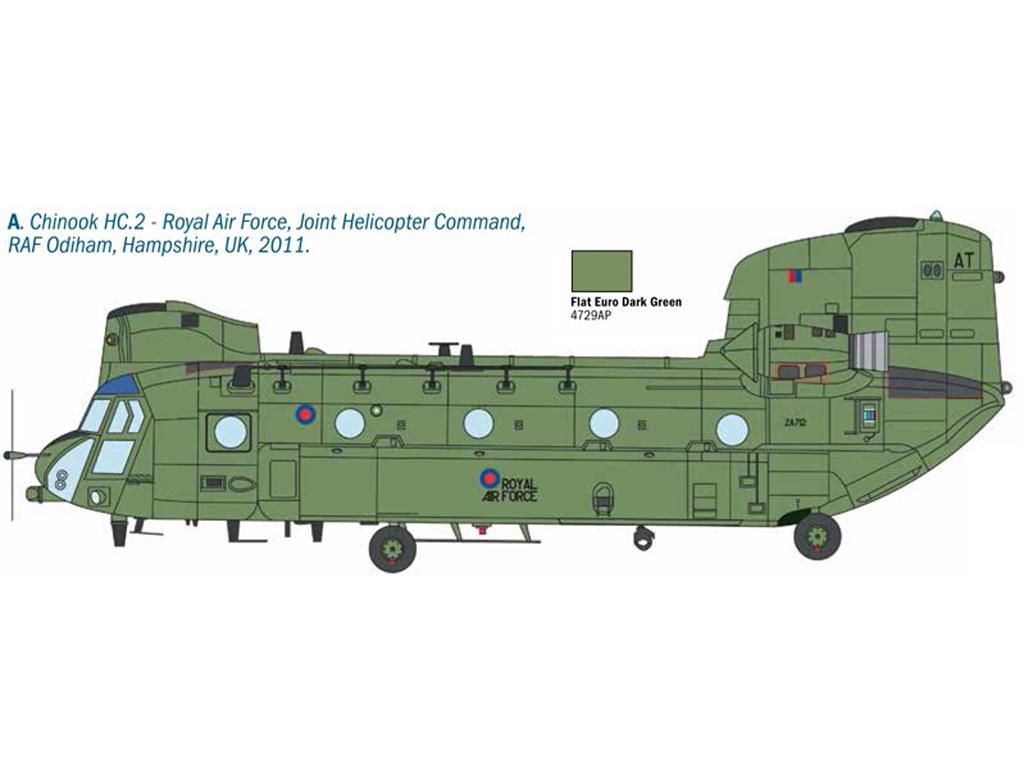 Chinook HC.2 CH-47F (Vista 3)
