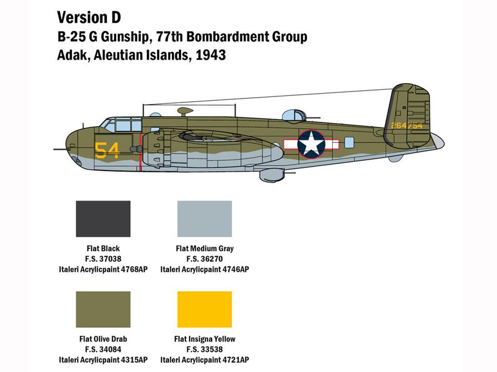 B-25G Mitchell (Vista 7)