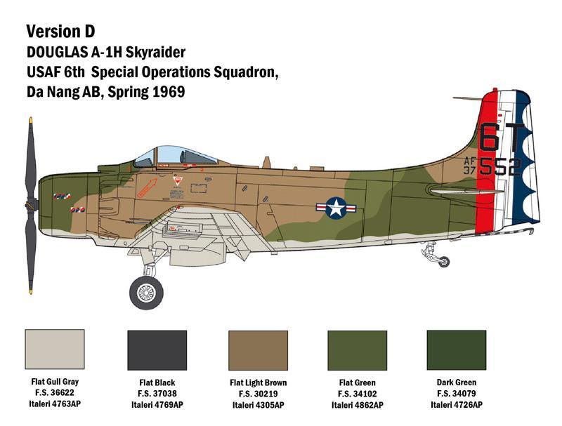 A-1H Skyraider (Vista 2)