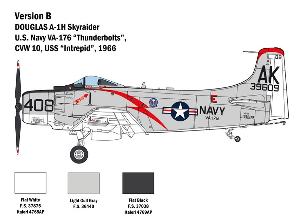 A-1H Skyraider (Vista 5)