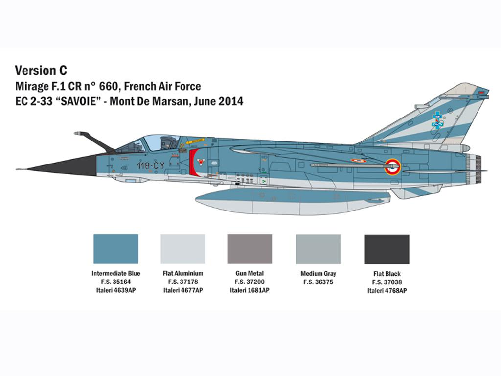 Mirage F 1 CT/CR (Vista 2)