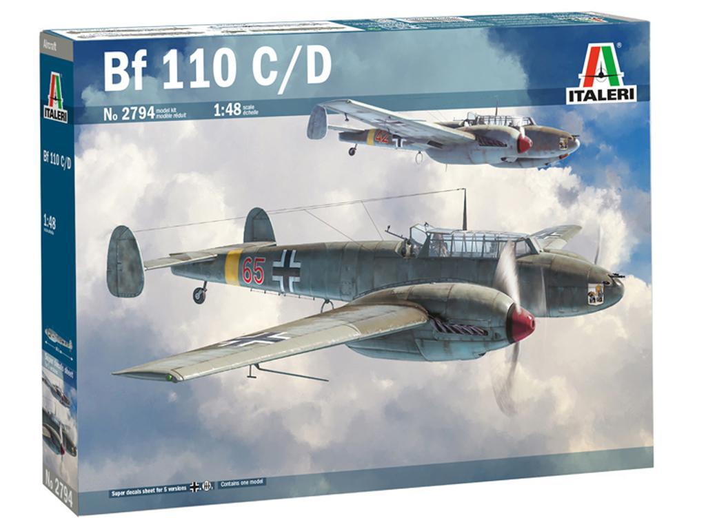 Messerschmitt Bf 110 C/D (Vista 1)
