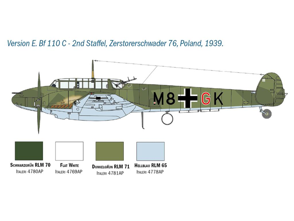 Messerschmitt Bf 110 C/D (Vista 2)