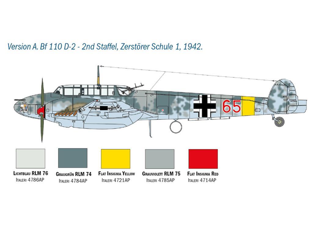 Messerschmitt Bf 110 C/D (Vista 4)