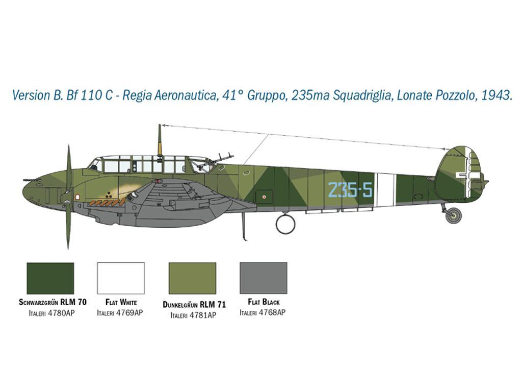 Messerschmitt Bf 110 C/D (Vista 5)