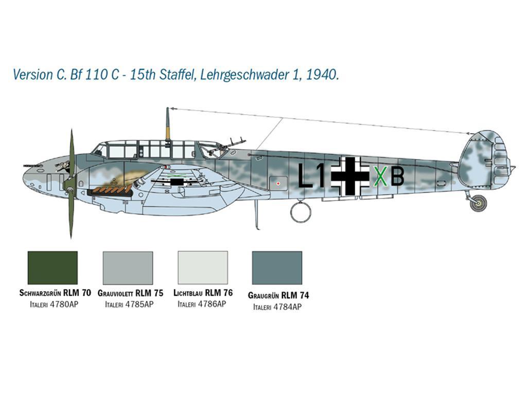Messerschmitt Bf 110 C/D (Vista 6)