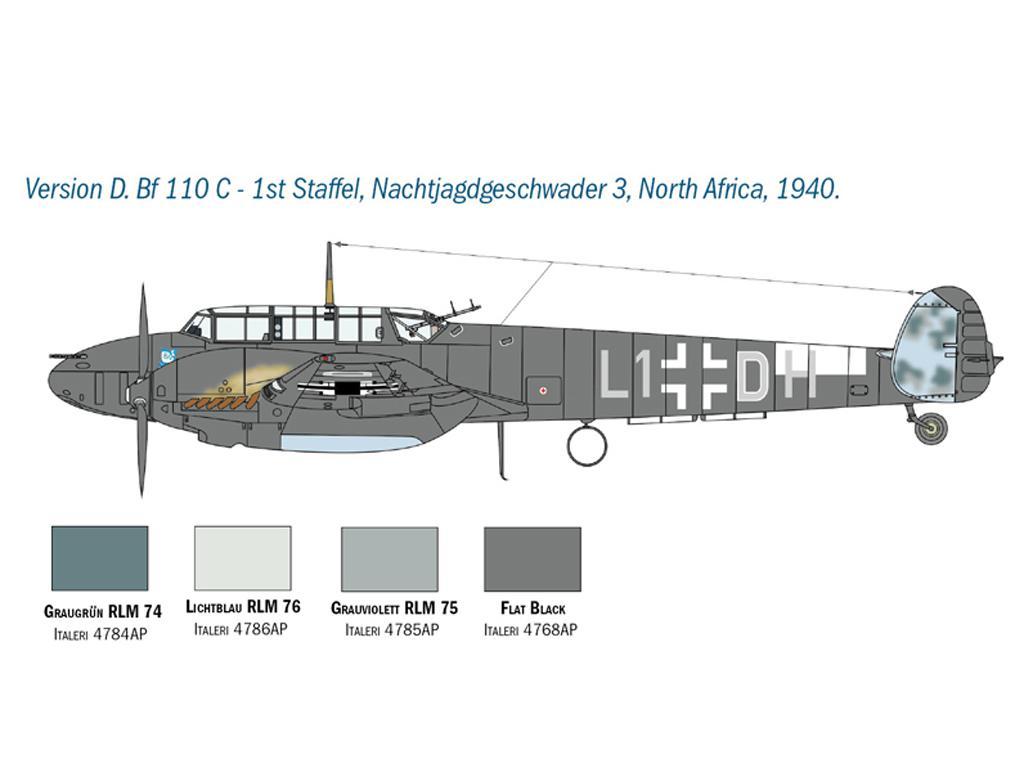 Messerschmitt Bf 110 C/D (Vista 7)