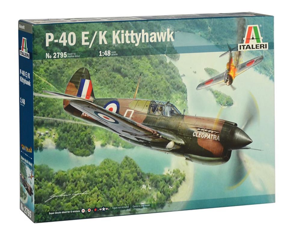 P-40 E/K Kittyhawk (Vista 1)