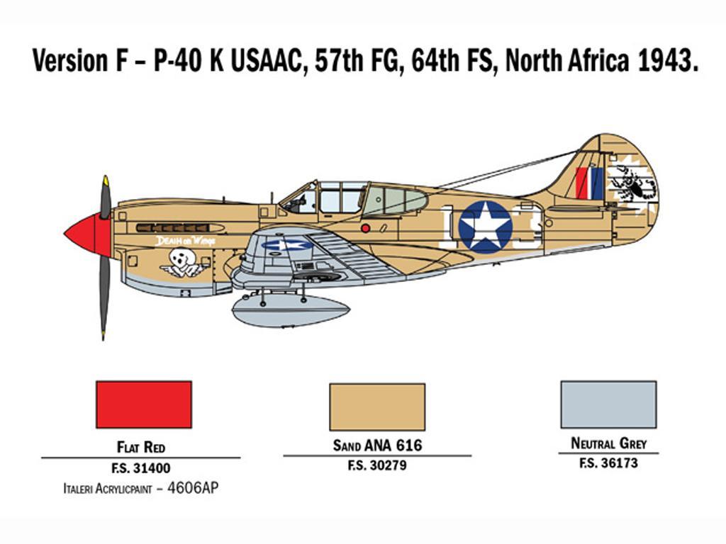 P-40 E/K Kittyhawk (Vista 2)