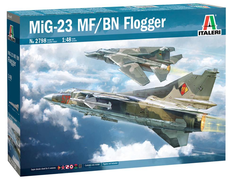 MiG-23 MF/BN Flogger (Vista 1)