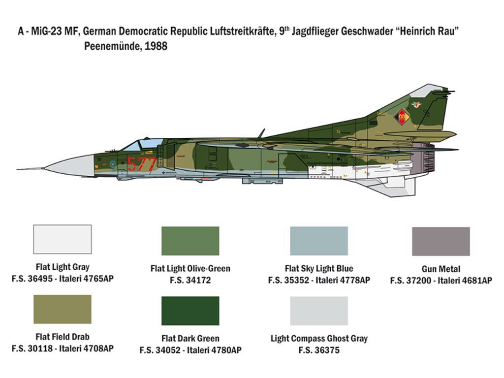 MiG-23 MF/BN Flogger (Vista 2)