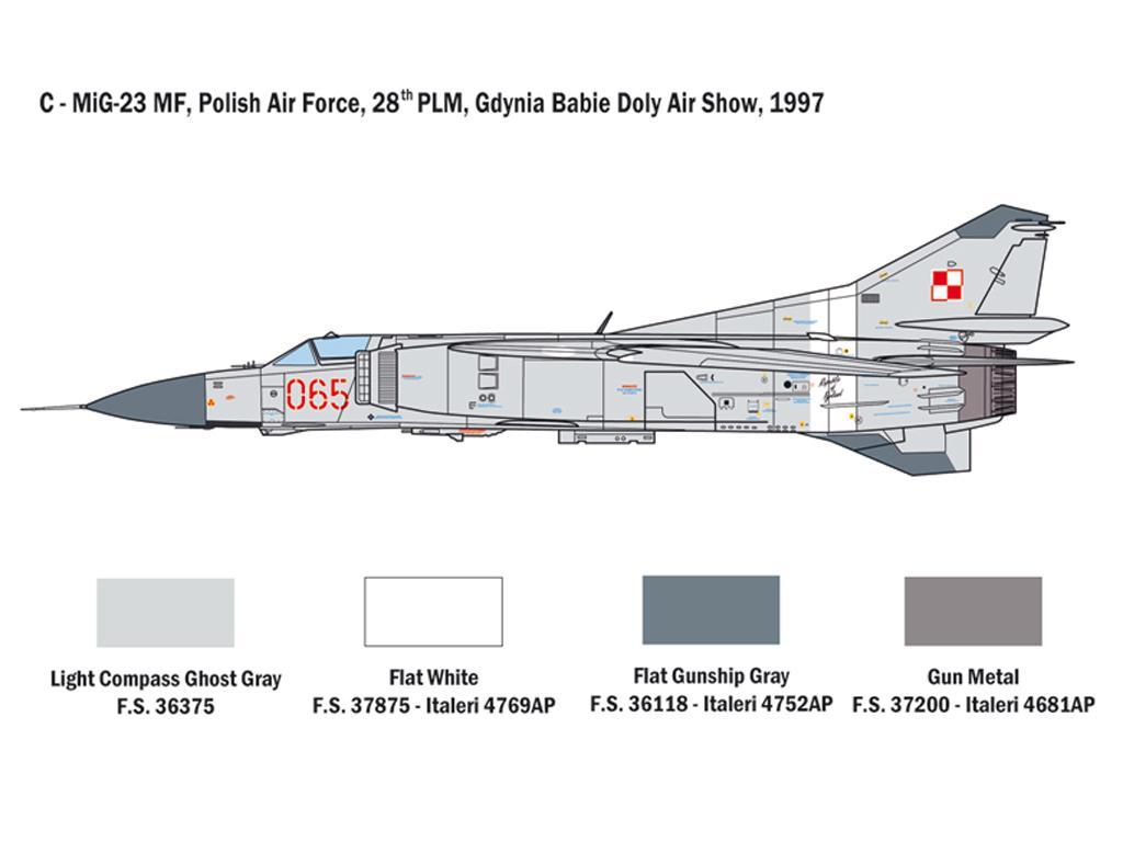 MiG-23 MF/BN Flogger (Vista 3)
