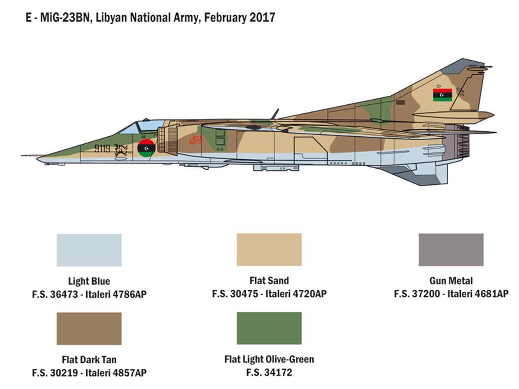 MiG-23 MF/BN Flogger (Vista 5)