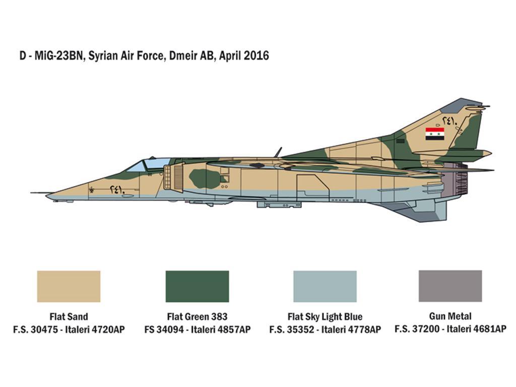 MiG-23 MF/BN Flogger (Vista 6)