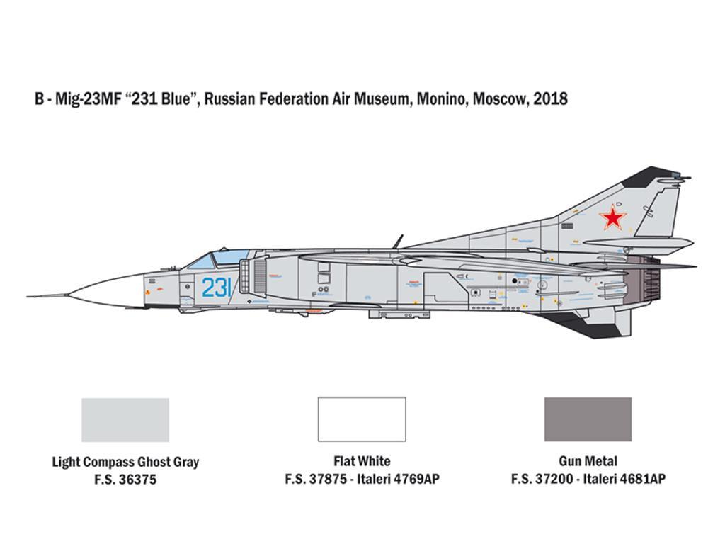 MiG-23 MF/BN Flogger (Vista 7)