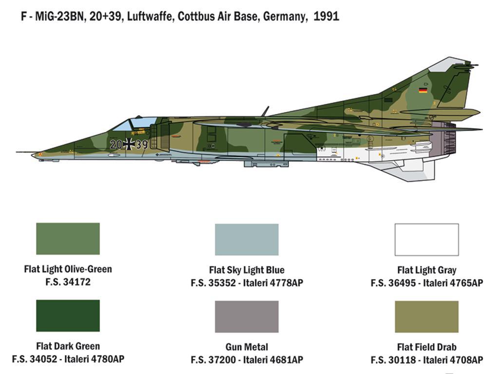 MiG-23 MF/BN Flogger (Vista 8)