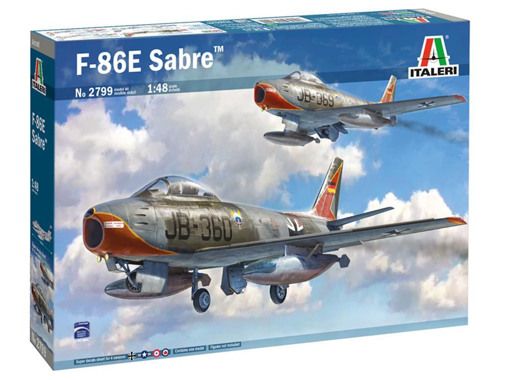 F-86E Sabre (Vista 1)