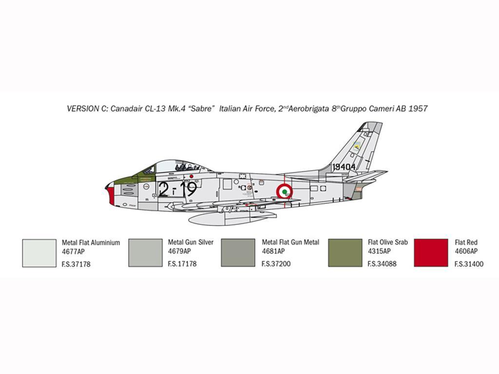 F-86E Sabre (Vista 2)