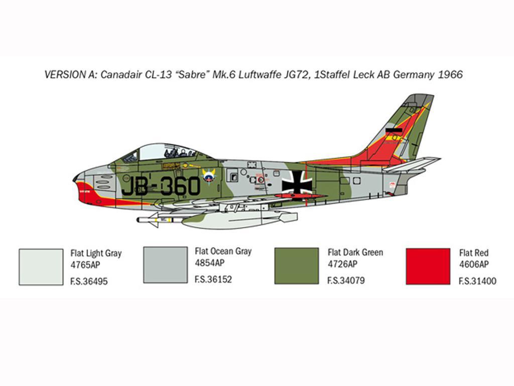 F-86E Sabre (Vista 4)